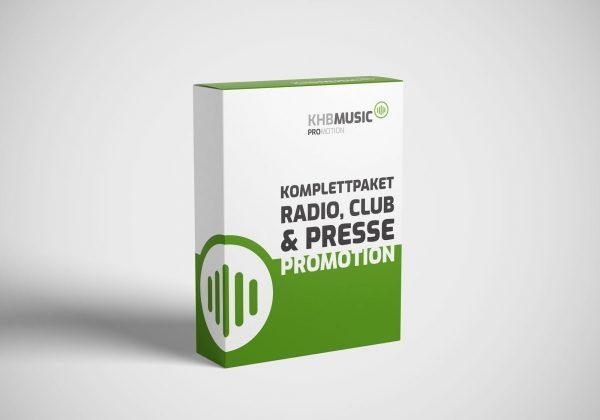 Komplettpaket Radio, Club & Presse Promotion