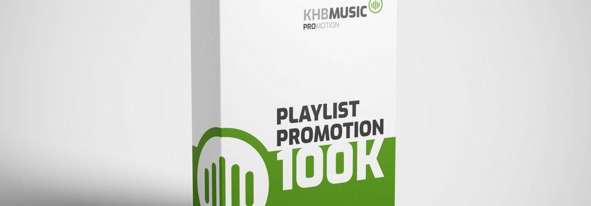 Spotify Playlist Promotion 100 K