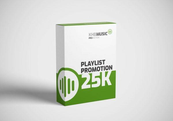Spotify Playlist Promotion 25 K