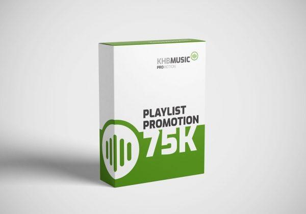 Spotify Playlist Promotion 75 K