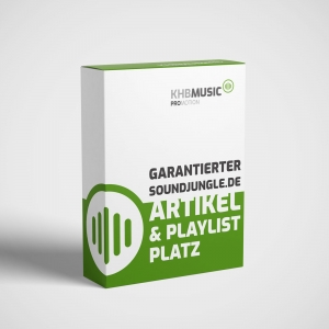 Garantierter Soundjungle.de Artikel und Playlist Platz