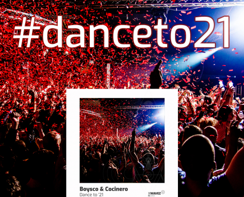 #danceto21 collaborative Playlist auf Spotify