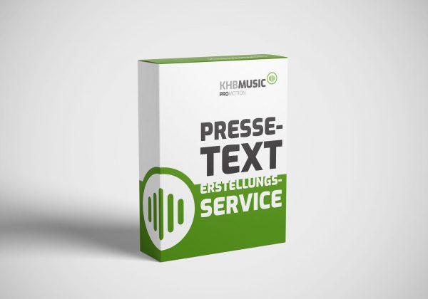 Pressetext-Erstellungsservice - KHB Music Promotion - Onlineshop
